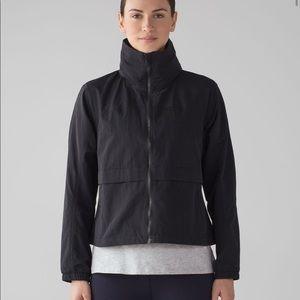 NWT Lululemon Effortless Jacket black